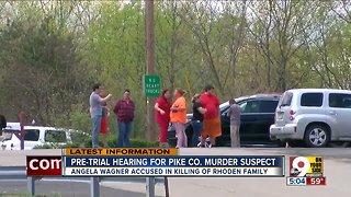 Pretrial hearing for Pike County massacre suspect
