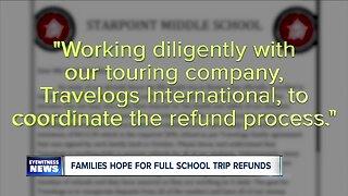 Canceled field trip has families seeking full refund