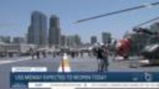 USS Midway museum reopens to the public