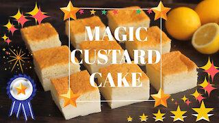 Magic Custard Cake Recipe - Fun Easy Recipe