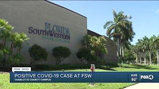 Positive COVID-19 case at FSW's Charlotte County campus