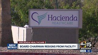 Hacienda HealthCare board director steps down