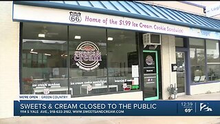 We're Open Green Country: Sweets & Cream