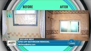 Get $750 OFF Your Bathroom Remodeling! // Mr. Dino's Baths