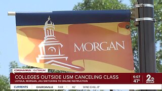 List: Maryland universities suspending in-person classes