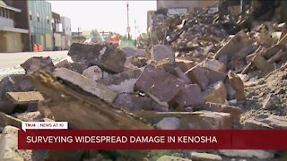 """Kenosha business owners picking up the pieces after nights of unrest: """"It looks like World War 2"""""""