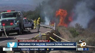 Preparing for wildfire season during pandemic