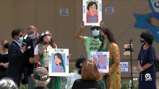 Rally against 'Asian Hate' held in Lake Worth Beach