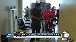 AAA promotes distracted driving awareness