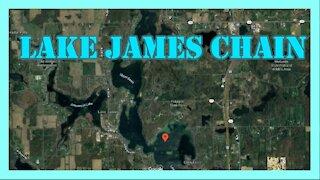 Lake James Chain Indiana Fishing