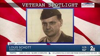 Veteran Spotlight: Louis Schott of Marriottsville