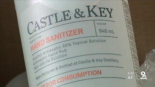Kentucky distillery donates 9,000 bottles of hand sanitizer