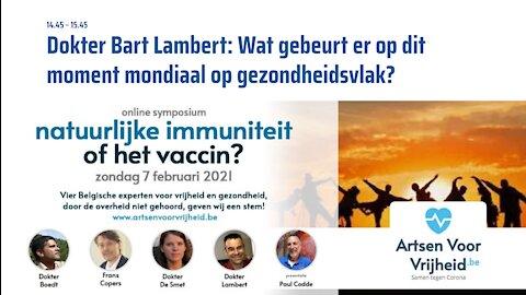 5. Dr. Bart Lambert - Symposium Artsen Voor Vrijheid 7-2-2021