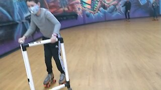 Spencer skating 2