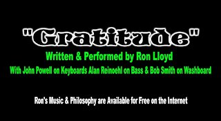 "Ron Lloyd – ""Gratitude"""