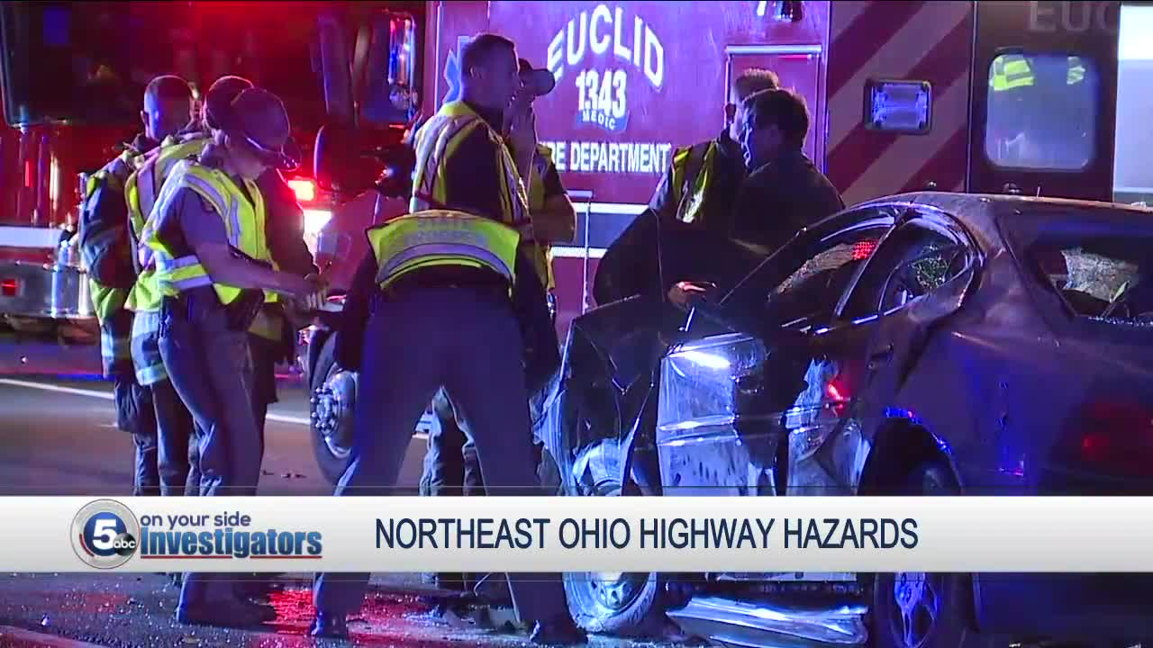 Northeast Ohio highway danger a growing issue, according to roadside safety response team