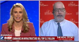 The Real Story - OAN Exposing Earmarks with Tom Jones
