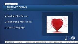 Warning about romance scams
