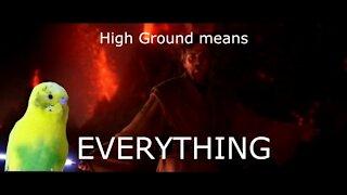 High Ground Always Wins - Caesar On High