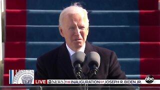 President Joe Biden inaugural address