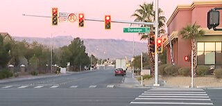 New traffic signal activated in west Las Vegas
