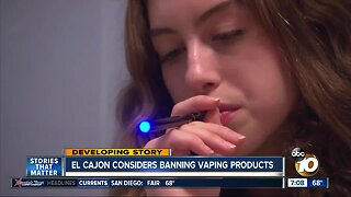 El Cajon leaders say more research needed before vaping ban