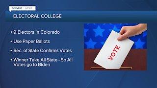 Electoral College votes today