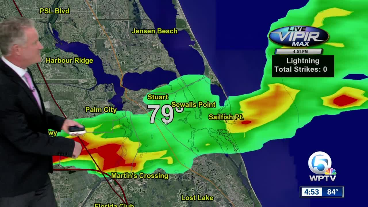 Waterspout spotted off Martin County