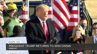 Trump attends campaign event in Green Bay