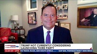 Trump Shouldn't Launch Third Party, He's Still Republican Favorite