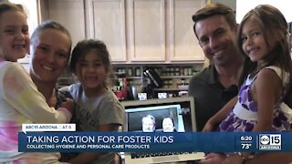 Taking Action for Foster Kids: Family talks about becoming family