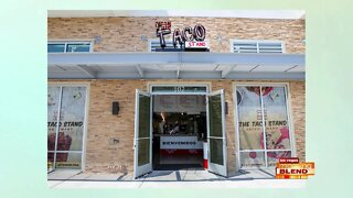 Grand Opening Of 'The Taco Stand'