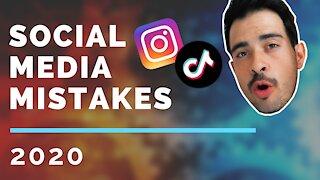 5 social media mistakes you should avoid