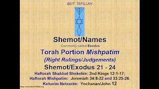 Torah Portion Mishpatim 20210213