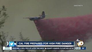Cal Fire crews prepare for dangerous fire conditions
