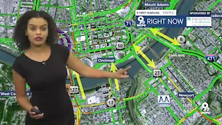Brent Spence Bridge closure prompts traffic detours and delays throughout Northern Kentucky