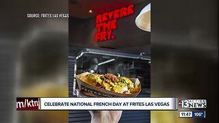"""Celebrate National French Fry Day at """"Frites"""" in Las Vegas"""