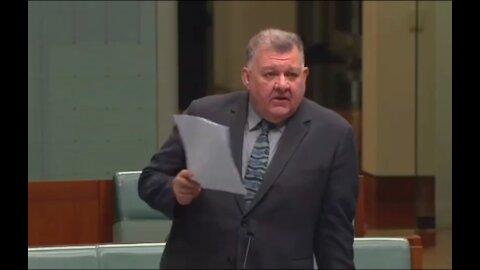 Australian politician Craig Kelly drops Ivermectin truth bombs in parliament