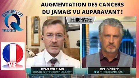 UNE AUGMENTATION DES CANCERS COMME JAMAIS AUPARAVANT !