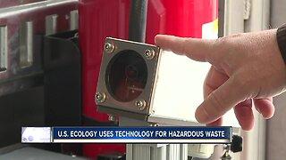Technology helps sort hazardous waste