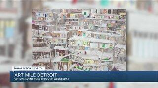 Art Mile Detroit gives artists a virtual showcase