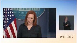 Jen Psaki Defends Biden's Neanderthal Comment