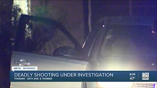 Deadly shooting near 35th Avenue and Thomas Road