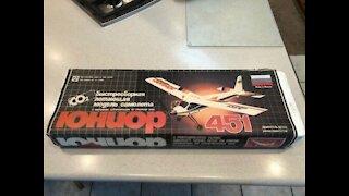 CO2 Powered Airplane