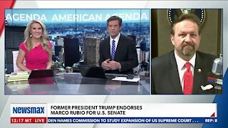 Former President Trump Endorses Marco Rubio for U.S. Senate