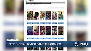Free digital Black Panther comics