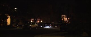 Police searching for suspect following double shooting