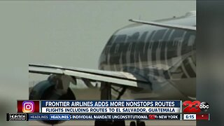 Frontier Airlines adds more nonstop routes