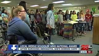 Local student awarded prestigious National Award