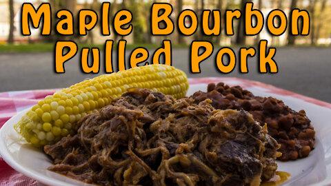 Dutch Oven Maple Bourbon Pulled Pork